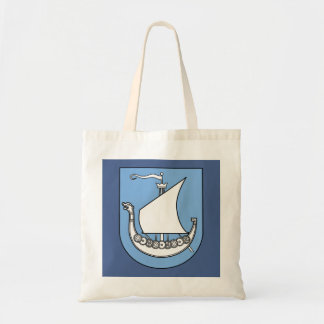 Viking Ship Scandinavian Tote Bag