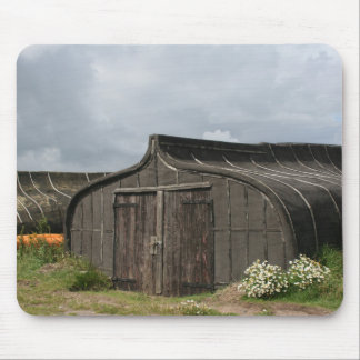 Viking Ship Shed Mousepad