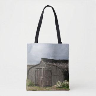 Viking Ship Shed Tote Bag