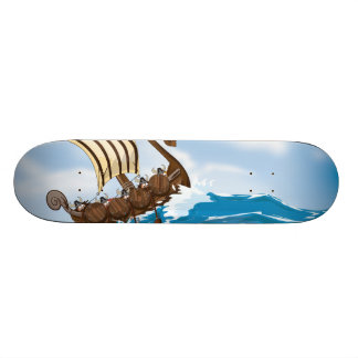 Viking Ship Skateboards