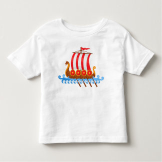 Viking Ship Toddler T-shirt