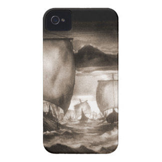 VIKING SHIPS iPhone 4 Case-Mate CASE