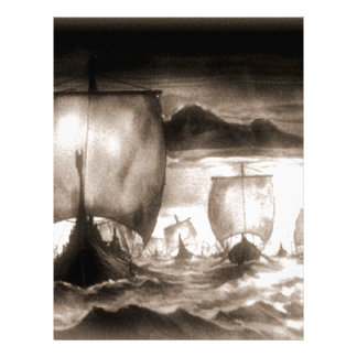 VIKING SHIPS LETTERHEAD