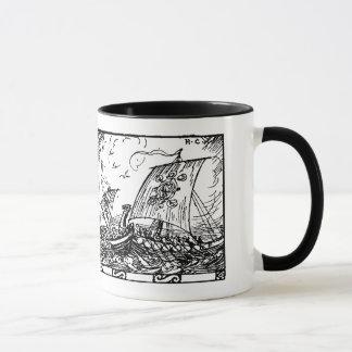 Viking Ships Mug