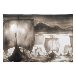 VIKING SHIPS PLACEMAT