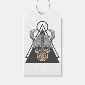 Viking Skull Gift Tags