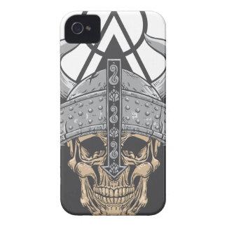 Viking Skull iPhone 4 Case-Mate Case