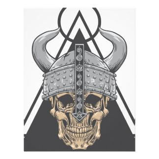 Viking Skull Letterhead