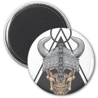 Viking Skull Magnet