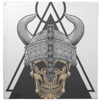 Viking Skull Napkin