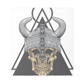 Viking Skull Notepad