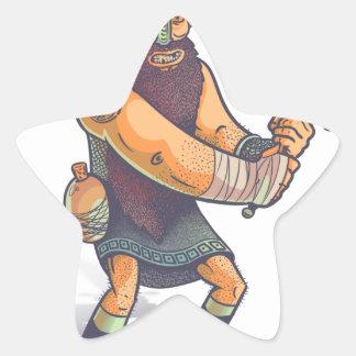 Viking Star Sticker
