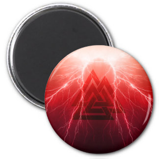 Viking Storm 2 Inch Round Magnet