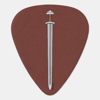 Viking Sword Guitar Pick