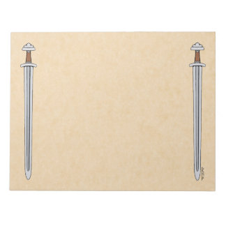Viking Sword Notepad
