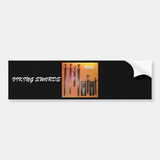 Viking Swords Bumper Sticker