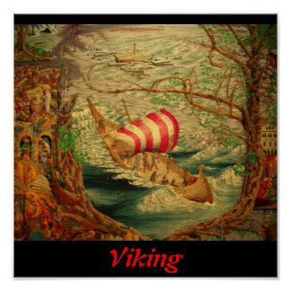 Viking Tapestry Poster