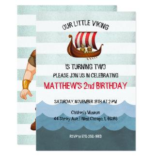 Viking Themed Party Invitation