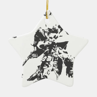 Viking Valhalla - Design 4 Ceramic Star Ornament