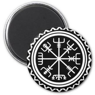 Viking Vegvisir Compass 2 Inch Round Magnet