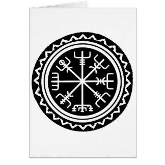 Viking Vegvisir Compass Card