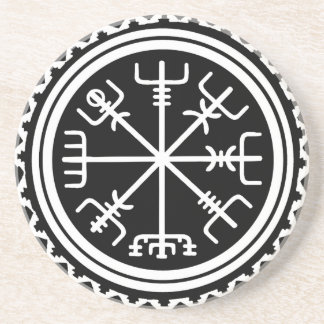 Viking Vegvisir Compass Coaster