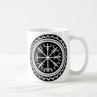 Viking Vegvisir Compass Coffee Mug