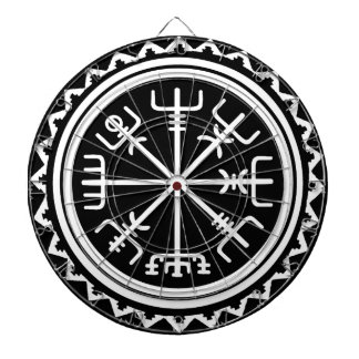 Viking Vegvisir Compass Dartboard