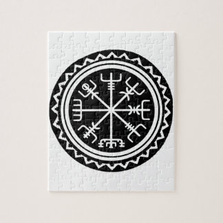 Viking Vegvisir Compass Jigsaw Puzzle