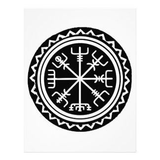 Viking Vegvisir Compass Letterhead