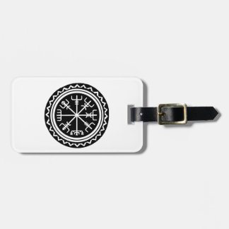 Viking Vegvisir Compass Luggage Tag