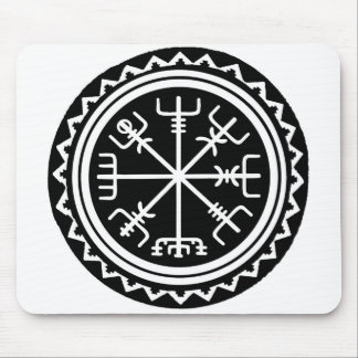 Viking Vegvisir Compass Mouse Pad