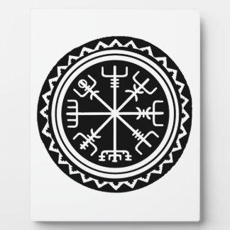 Viking Vegvisir Compass Plaque