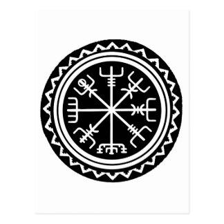 Viking Vegvisir Compass Postcard