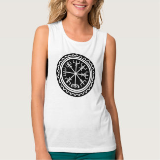 Viking Vegvisir Compass Tank Top