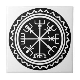 Viking Vegvisir Compass Tile