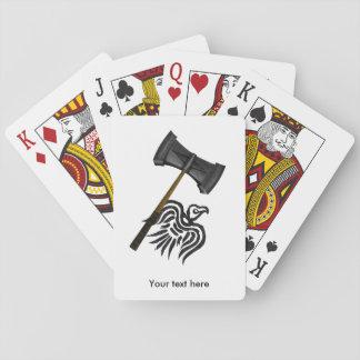 Viking War Hammer Thor Poker Deck