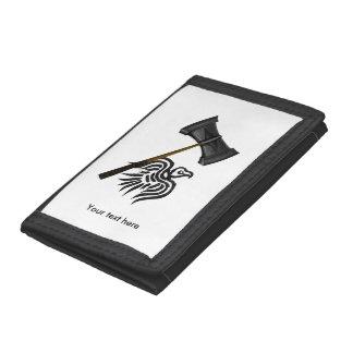 Viking War Hammer Thor Tri-fold Wallet