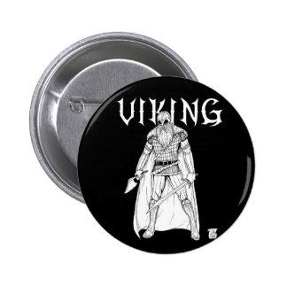 Viking Warrior 2 Inch Round Button
