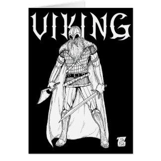 Viking Warrior Card
