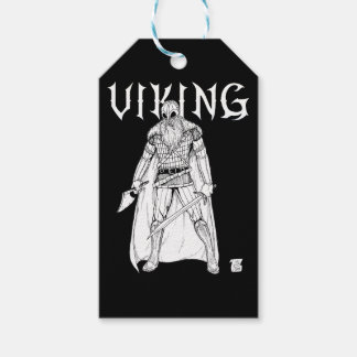 Viking Warrior Gift Tags