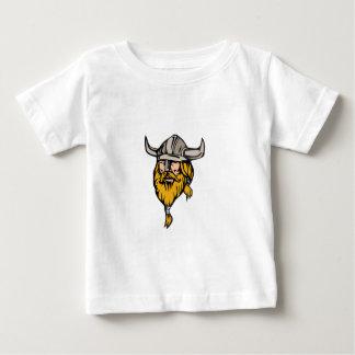 Viking Warrior Head Retro Baby T-Shirt