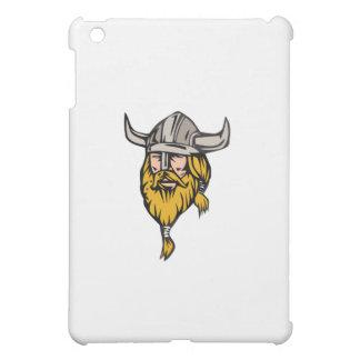 Viking Warrior Head Retro Case For The iPad Mini