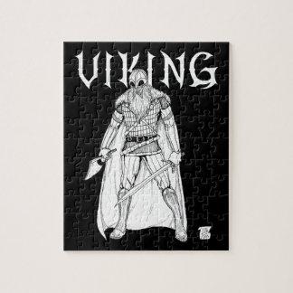 Viking Warrior Jigsaw Puzzle