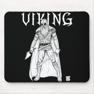 Viking Warrior Mouse Pad