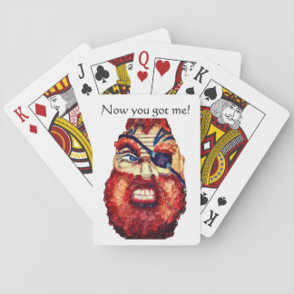 Viking Warrior - Now you got me! Playing Cards