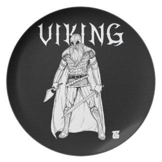 Viking Warrior Plate