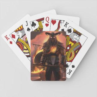 Viking Warrior Playing Cards
