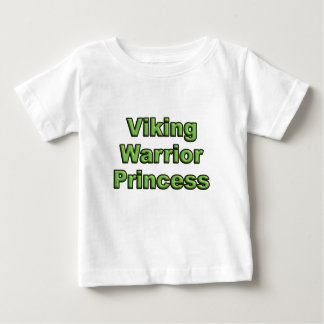 Viking Warrior Princess Baby T-Shirt