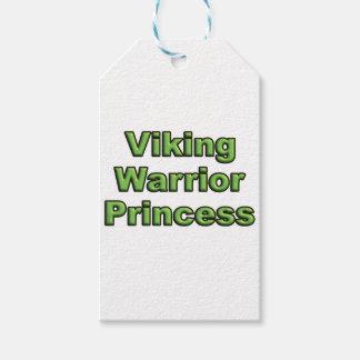 Viking Warrior Princess Gift Tags